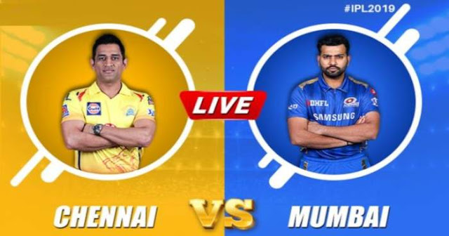 VIVO IPL 2019 Match 44 CSK vs MI Live Score and Full Scorecard