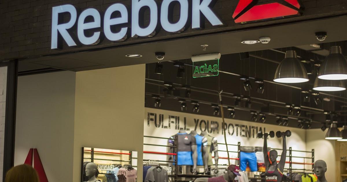 14063b35b25 Reebok inaugura primeira loja no Brasil