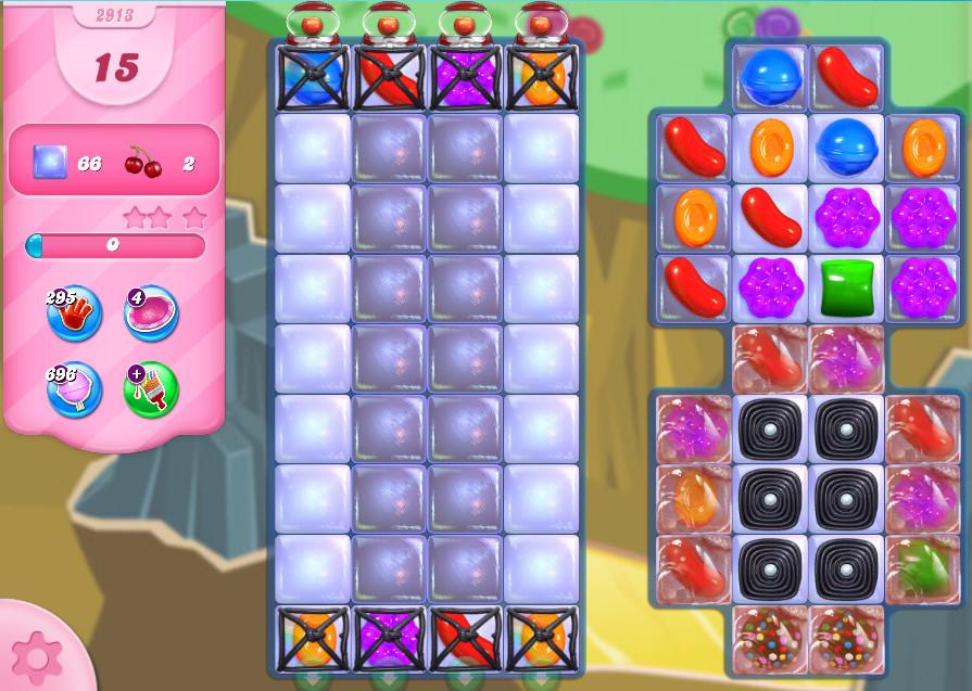 Candy Crush Saga level 2913