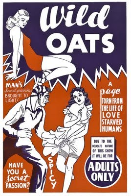 Sow my oats