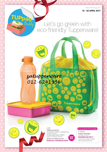 Tupperware Leaflet 14th - 30th April 2017