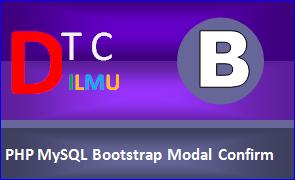 Menghapus baris dari MySQL dengan Bootstrap Modal
