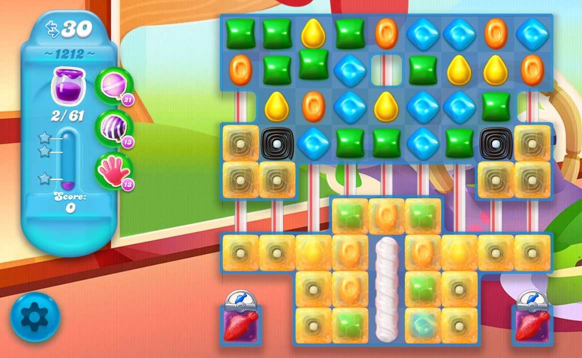 Candy Crush Soda Saga level 1212