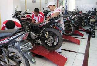 alamat dan no. telpon bkl service sepeda motor di bks