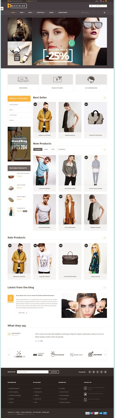 Best Responsive eCommerce WordPress Theme 2015