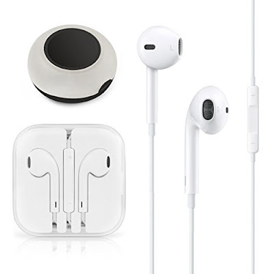 Earbud Stereo Headphones with Remote Control and Mic - Leadtouch - Phone Accessories