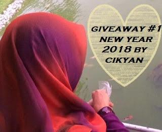 GIVEWAY #1 NEW YEAR 2018 BY CIKYAN