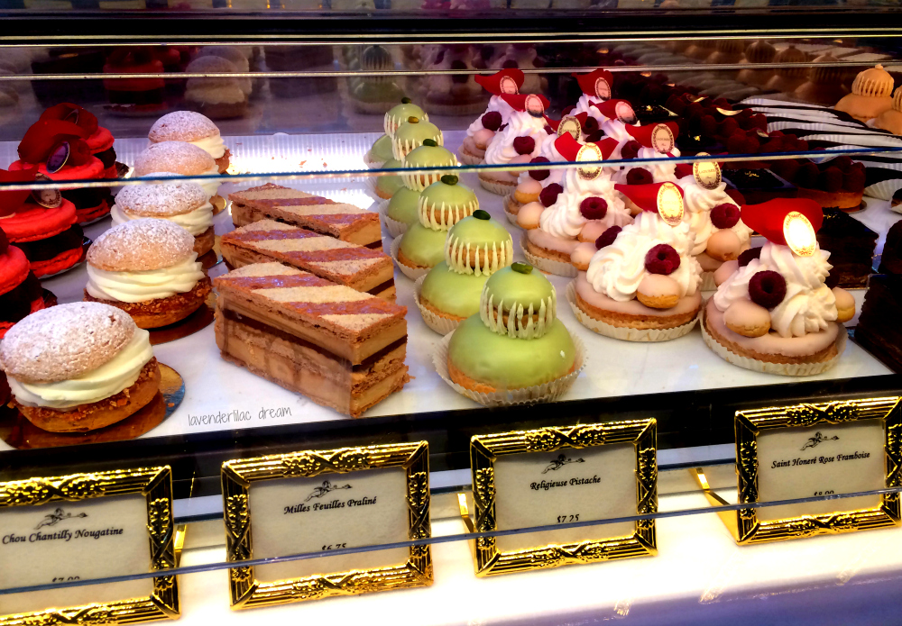 laduree soho pastries desserts