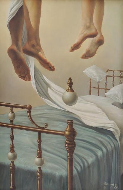 Alberto Pancorbo arte moderno hiperrealista surrealista sueno