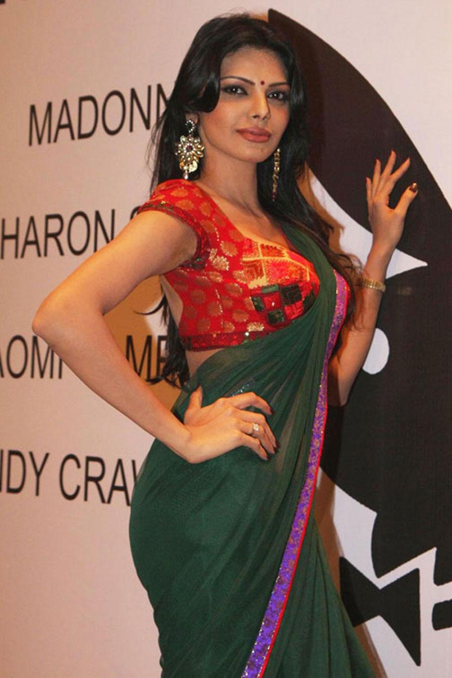 Gallery Funda Bollywood Item Girl Hot Actress Sherlyn -5845