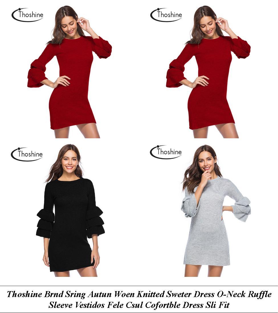 Plus Size Dresses - Next Sale Womens - Gold Dress - Cheap Clothes Online