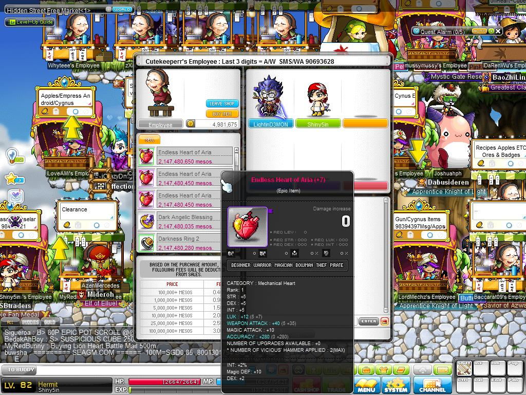 ♛ MapleSecrets - ☯ IMBA and CRAZY RICH MapleSEA Legend ☯ ♛