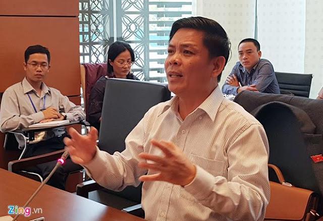 Mời Bộ trưởng Nguyễn Văn Thể đi xem họ sửa đường cao tốc