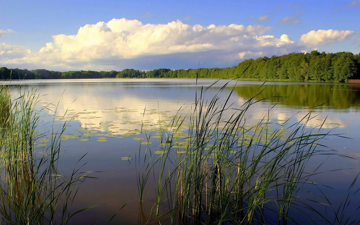 Beautiful Lake Widescreen HD Wallpaper 4