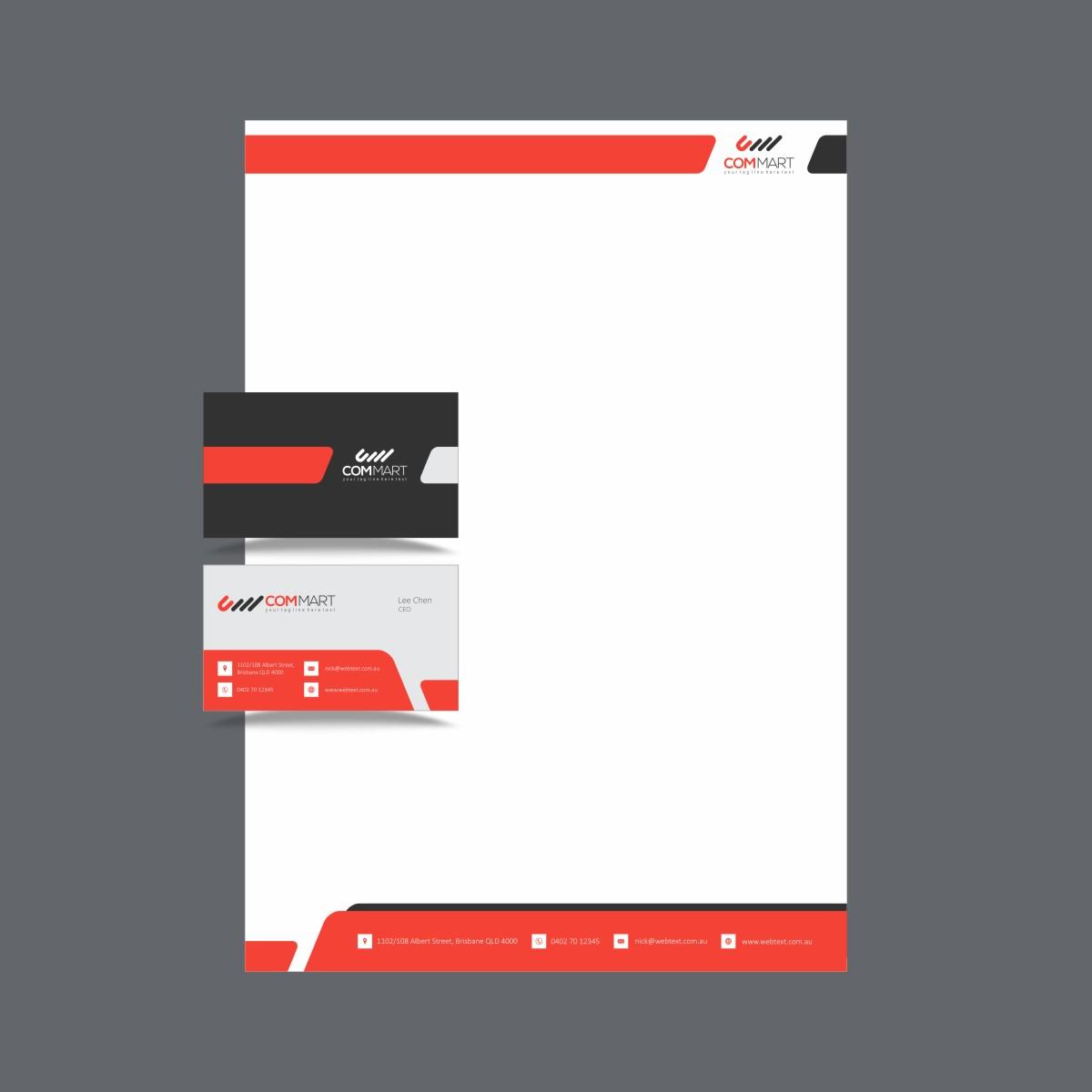 Thiết kế in ấn tiêu đề thư đẹp giá rẻ tại Hà Nội ComMart
