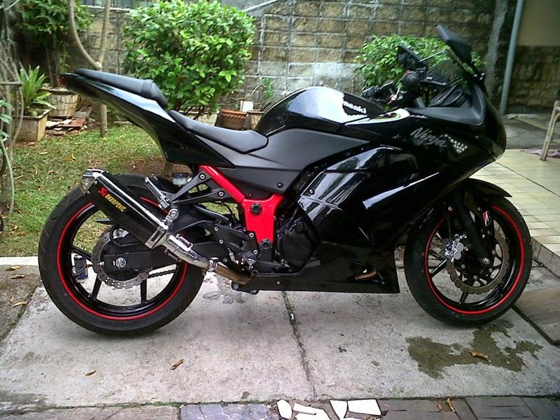 20 Modifikasi Motor Kawasaki Ninja 4 Tak Keren Abis