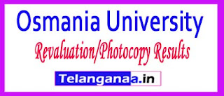 OU Degree 1st 2nd 3rd Year Supply Revaluation/Photocopy Results 2017