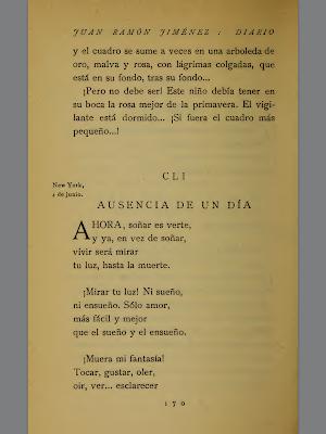 libro diario de un poeta recien casado: