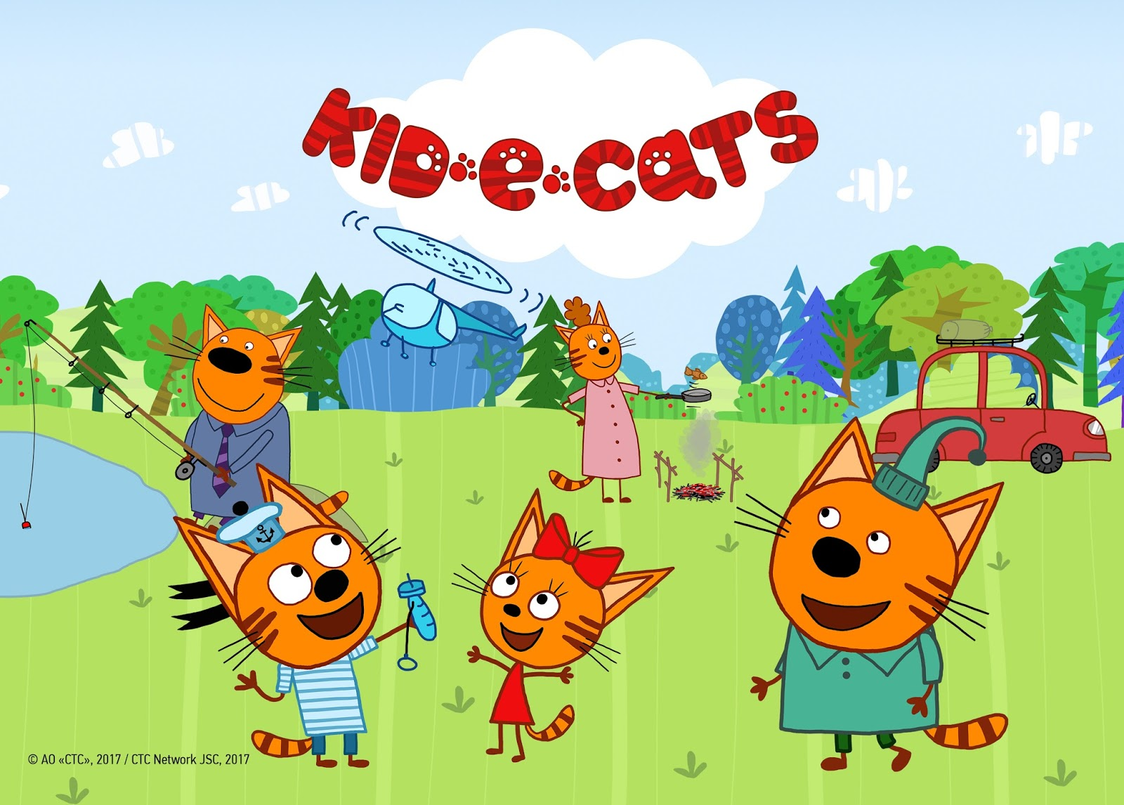 NickALive!: Nick Jr. UK To Premiere \'Kid-E-Cats\' In June 2018