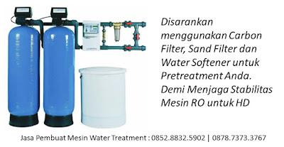dalam membuat water treatment untuk hemodialisa
