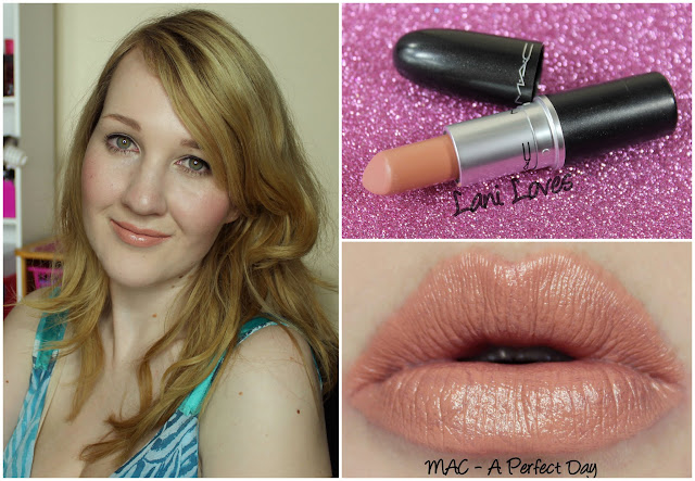 MAC A Perfect Day Lipstick swatch