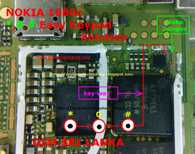 Nokia 1680c *,0,# Keys Not Working Solution  GSMHosters