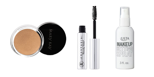 Mary Kay Creme Eyeshadow, Anastasia Beverly Hills Clear Brow Gel, Ulta Setting Spray, Beauty Blogger, Lifestyle Blogger, College Blogger