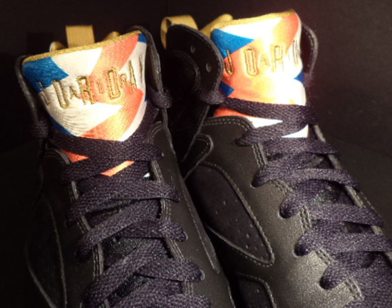 sale retailer 85b95 9177d Air Jordan 7 Retro GMP Unreleased Sample Black Metallic Gold-Sail