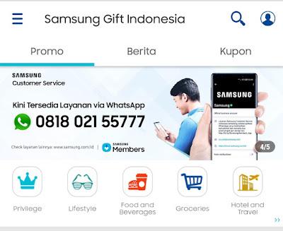 Smartphone Samsung Menyediakan Bonus - Bonus Gratis (Samsung Gift)