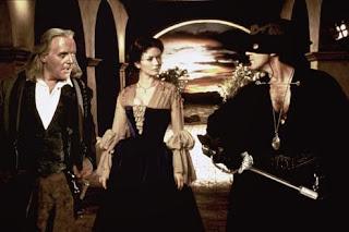 Antonio Banderas Anthony Hopkins The Mask of Zorro 1998