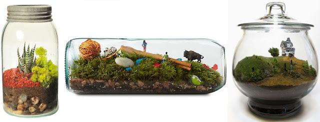 Ingin Punya Kebun Mini Yang Unik? Buat Saja Dengan Barang Bekas Ini!
