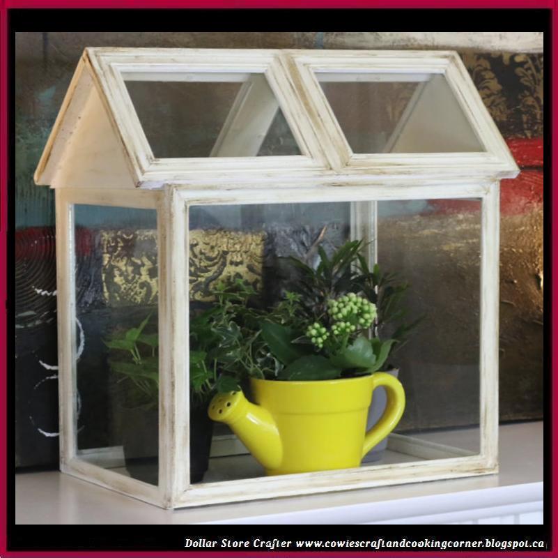 Dollar Store Crafter: DIY Pottery Barn Terrarium From