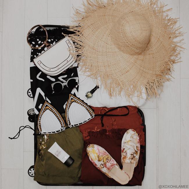 Japanese Fashion Blogger,Mizuho K,6月に買ったモノ,メルカリ-フリンジラフィアハット 旅行用意 パッキング