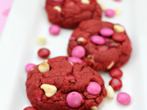 Easy Red Velvet Valentine Cookies Recipe