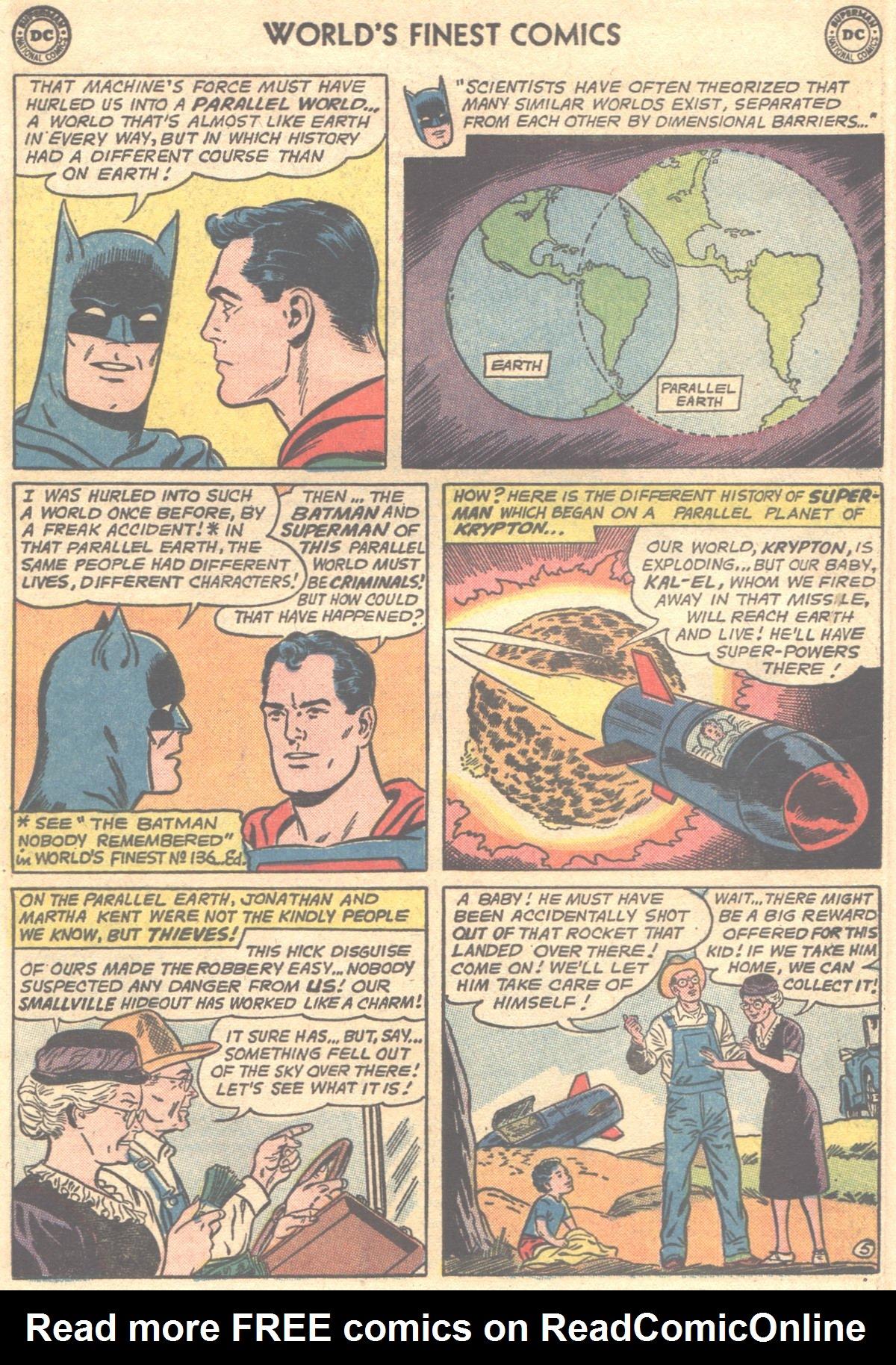 Read online World's Finest Comics comic -  Issue #148 - 8