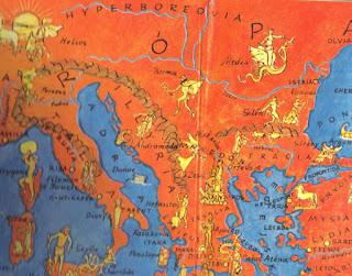 Supuesto lugar de Hiperbórea en Europa - norte Danubio
