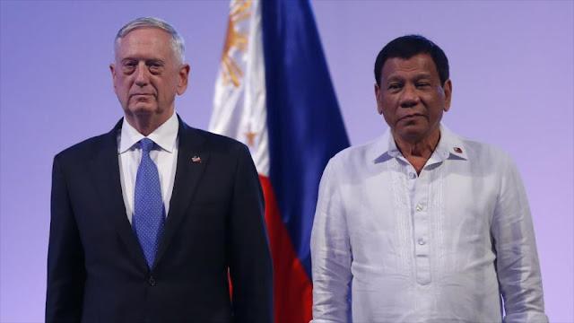Duterte a EEUU: Liberen las ciudades, no las arrasen con bombas