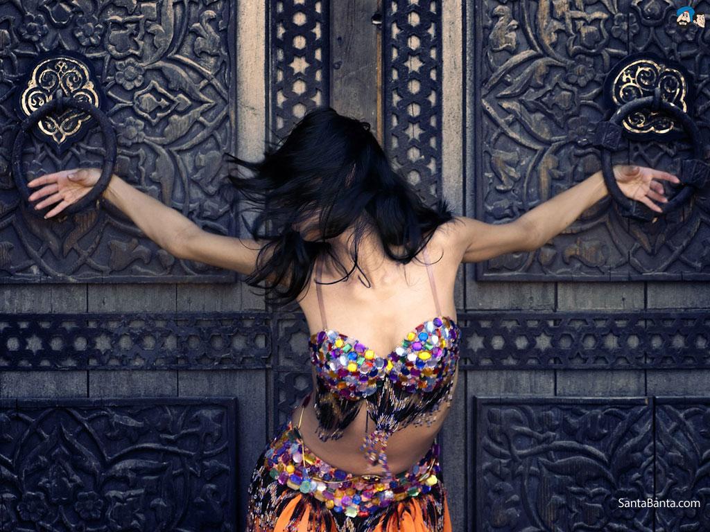 Hot Arab Arabic Dance Belly Dance Home Egyptian @ Nuvid