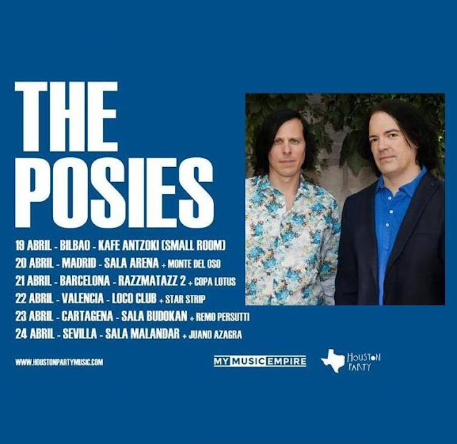 Gira The Posies Abril 2016