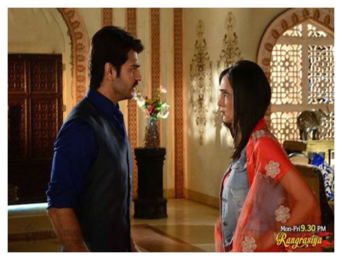 Rangrasiya 24th april 2014 episode desi tashan : Today new