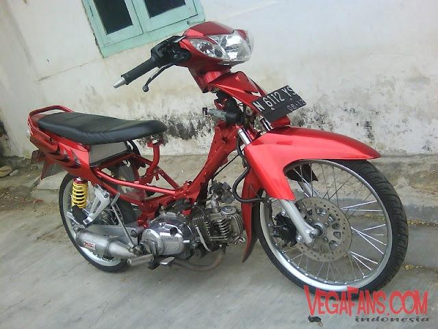 Vega R New Merah modif Sreet Racing