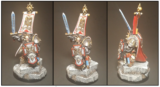 Deathwatch Terminator Captain of the Watch!