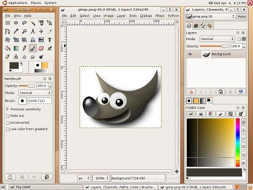 تحميل برنامج جيمب GIMP للكمبيوتر لتعديل الصور