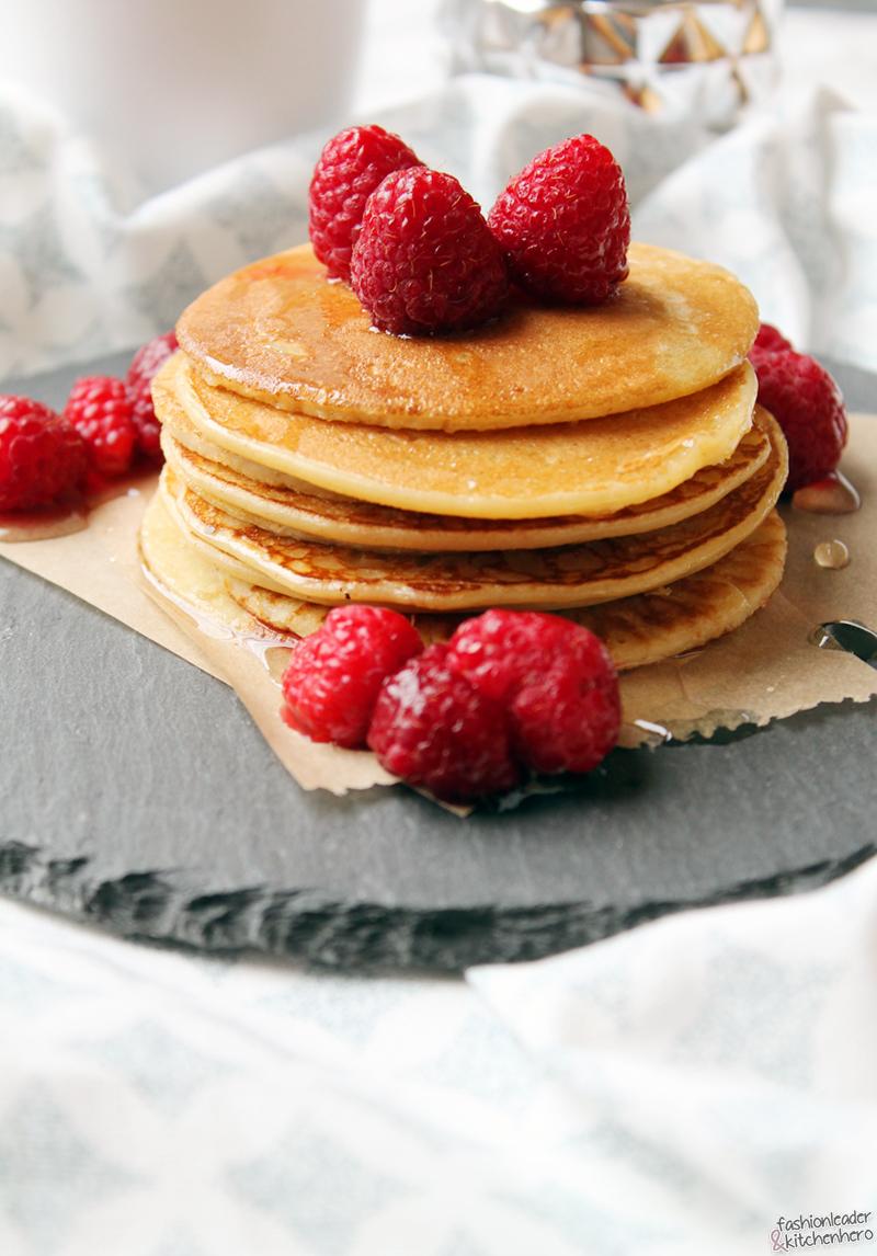 Frühstücksideen mit Hafer, Frühstüch, Pancakes