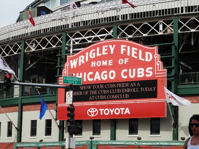 Wrigley Field à Chicago