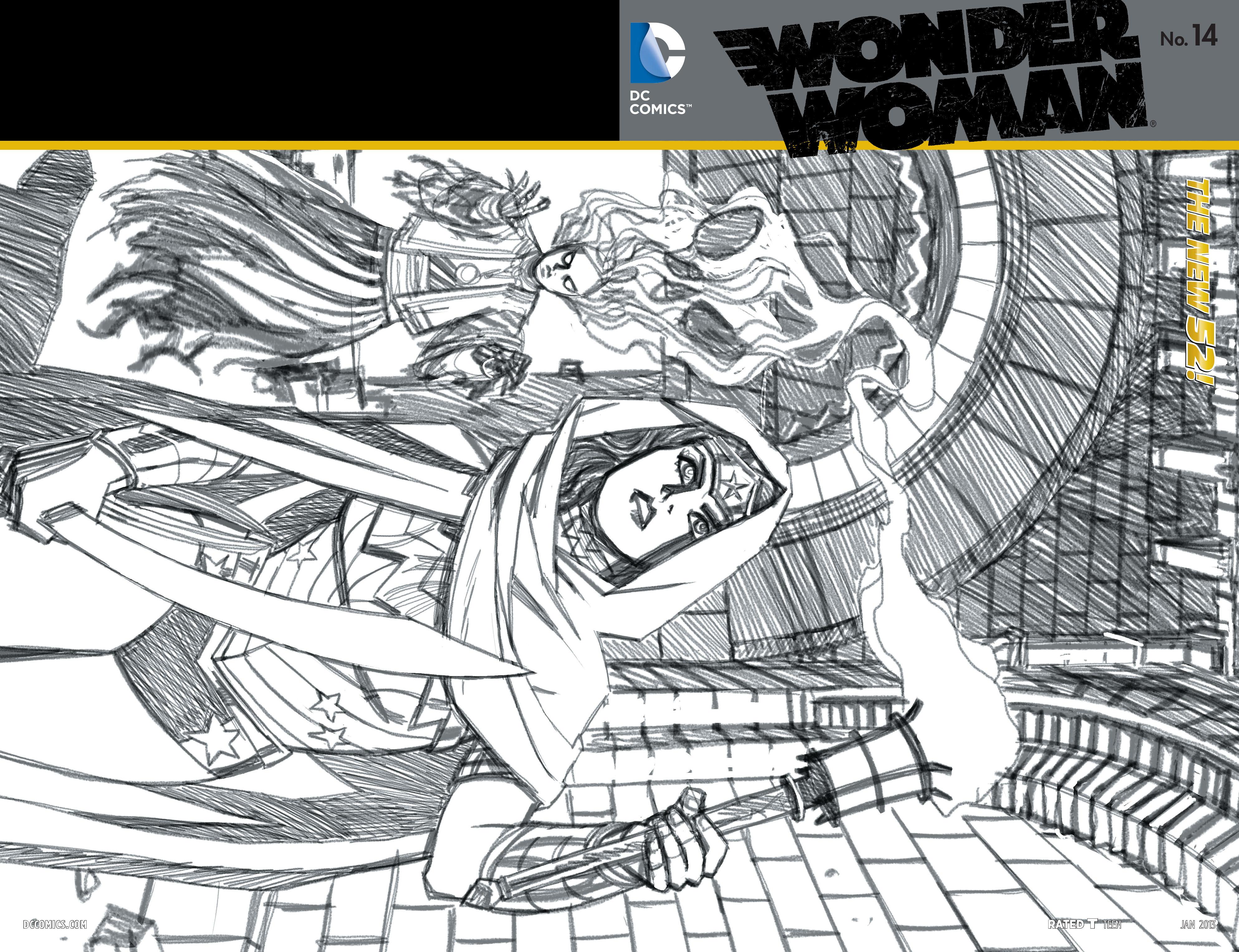 Read online Wonder Woman (2011) comic -  Issue #14 - 22