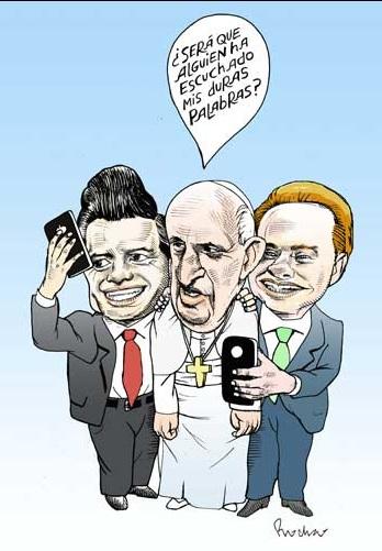 Enrique Peña Nieto, cartones políticos