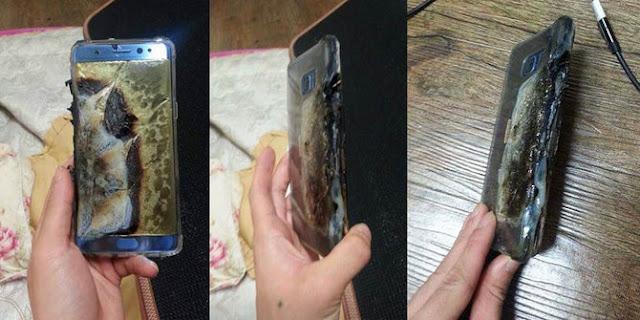 Penyebab Utama Meledaknya Perangkat Galaxy Note 7