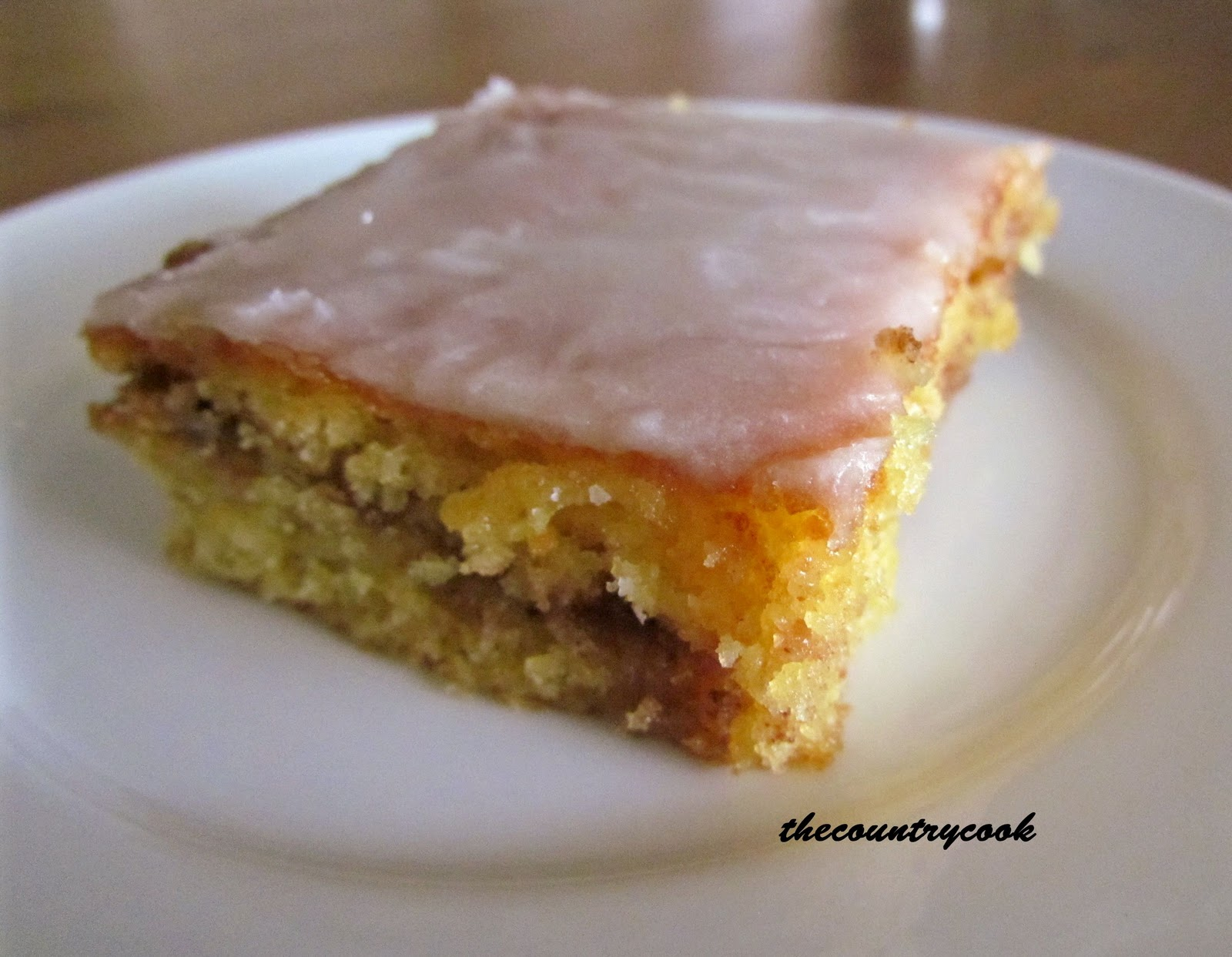 Honey Bun Coffee Cake