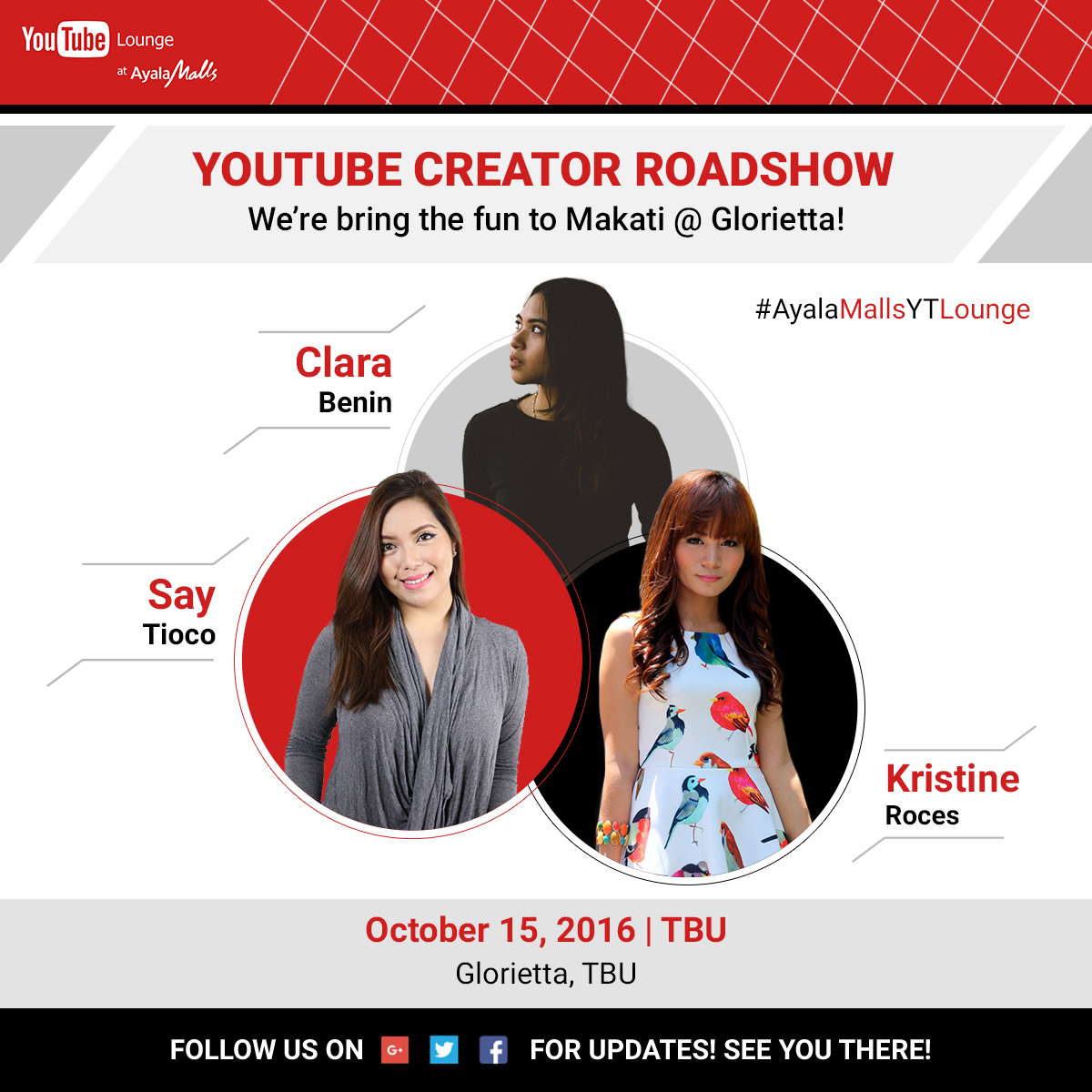 Real Asian Beauty Youtube Lounge Meet And Greet On October 15 2016